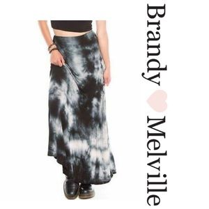 Brandy Melville Tie Dye Maxi Skirt
